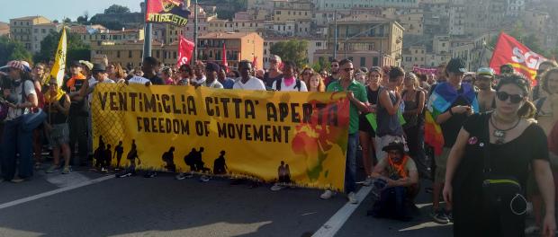 Ventimiglia città aperta. L'inizio di una mobilitazione solidale e internazionalista